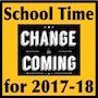 School Time Change Clip