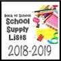 School Supply List 2018-2019 with pictures of markers scissors