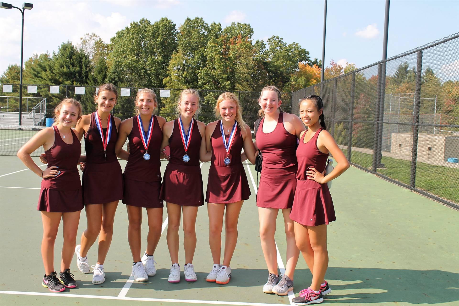 Varsity Tennis - MAC Championships Team Runner-up!