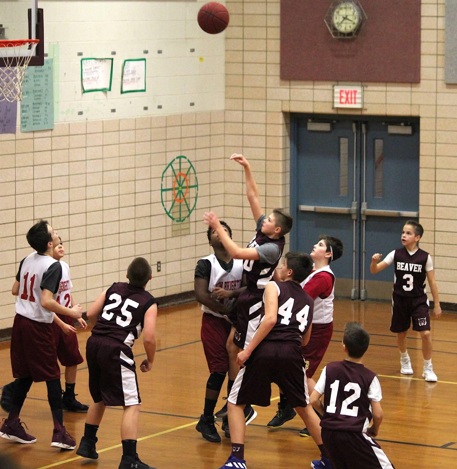 7th grade BKB - Nice shot!