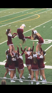 Jr. High Cheer - Great stunt work!