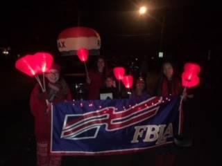 FBLA members at Light Up Night
