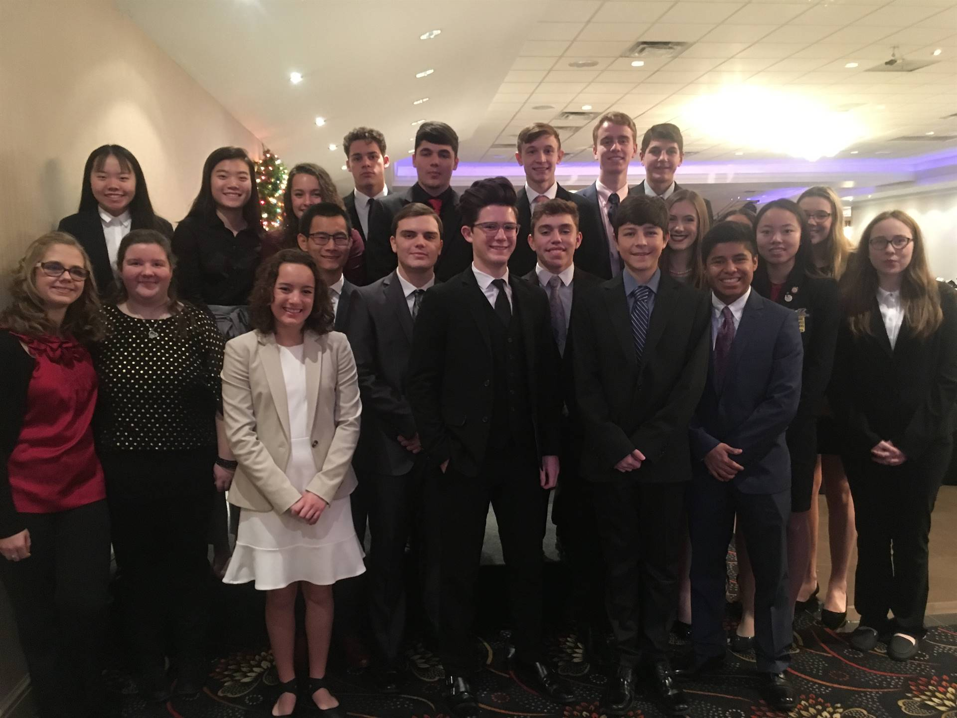 FBLA Competitors at the Regional Leadership Conference