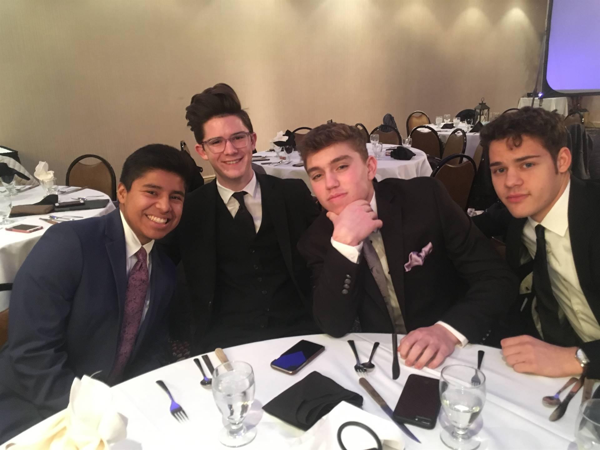 Eli, Sam, Rye, and Ian