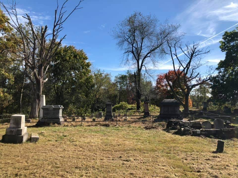 Cemetery clean up 2019