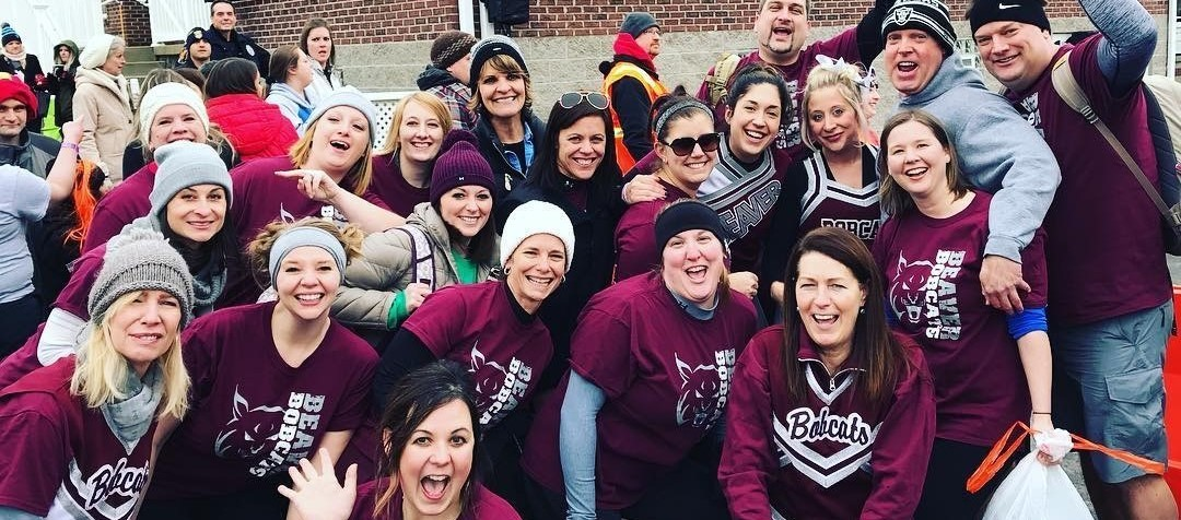 Beaver Teachers at Polar Plunge for Special Olympics
