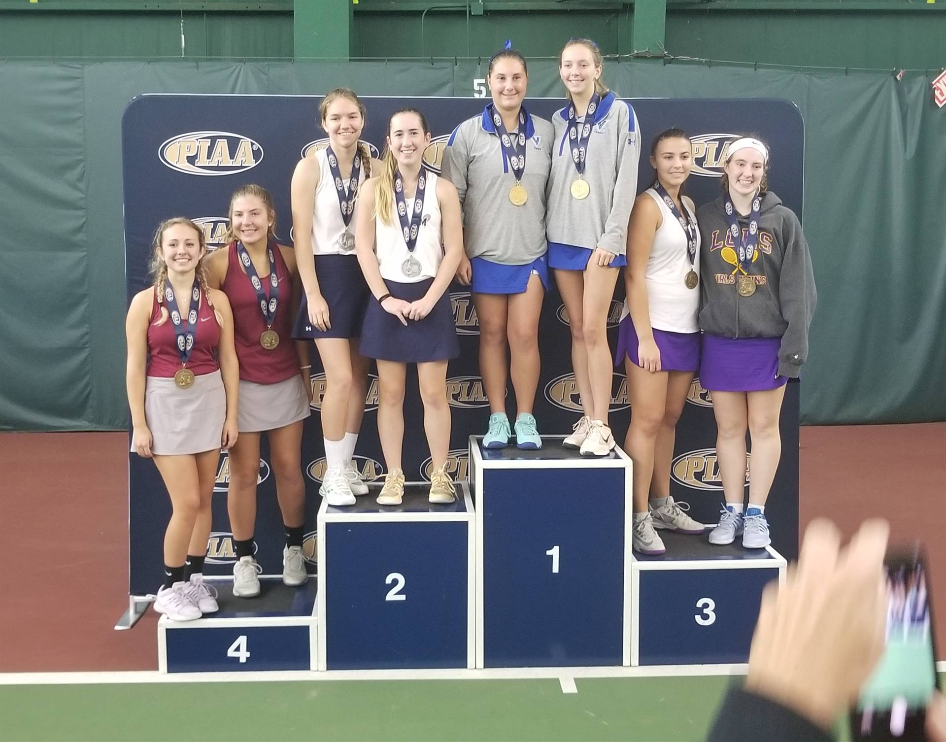 PIAA 4th Place Doubles