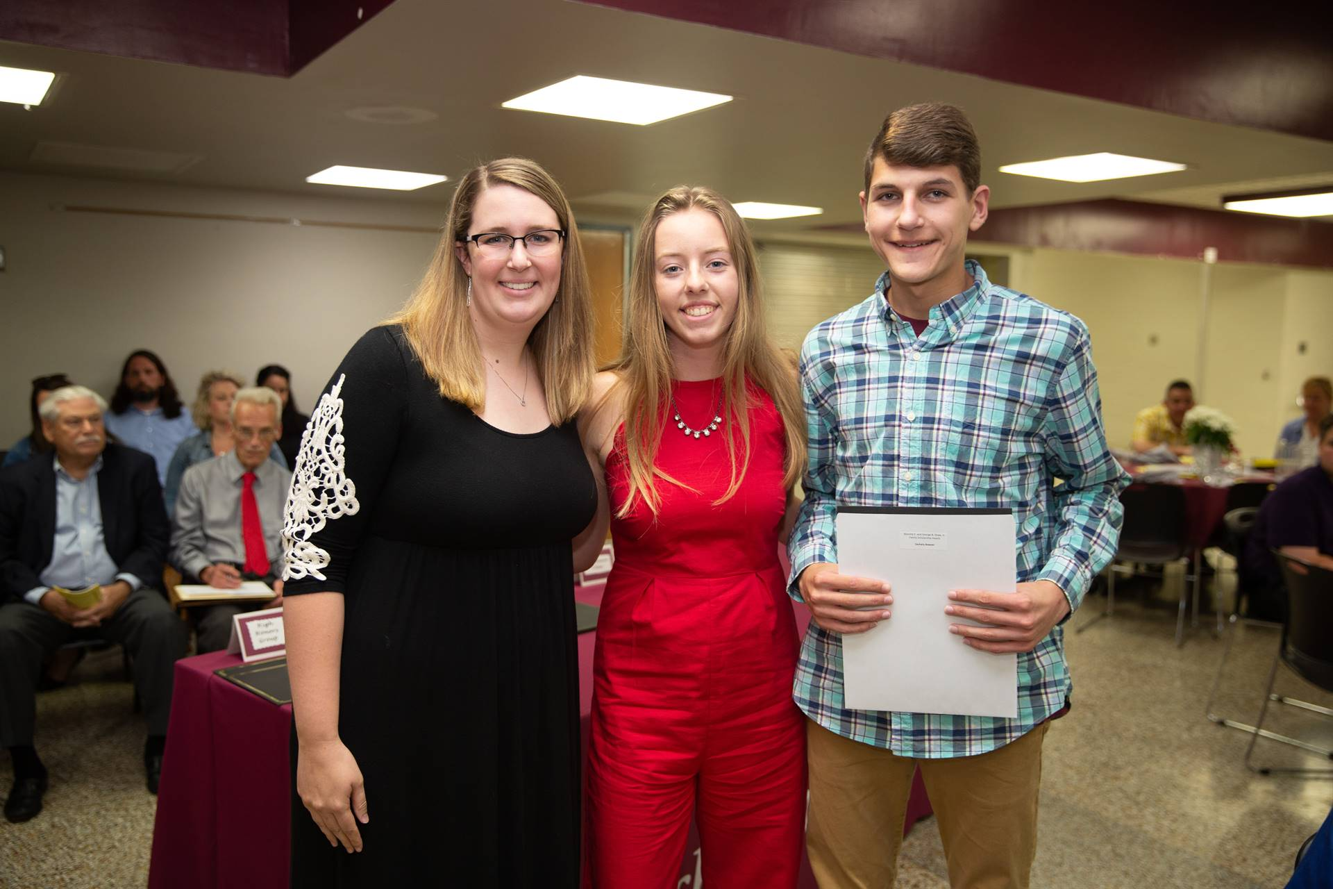 Presenting the Blanche E. and George B. Shaw,J r Family Award