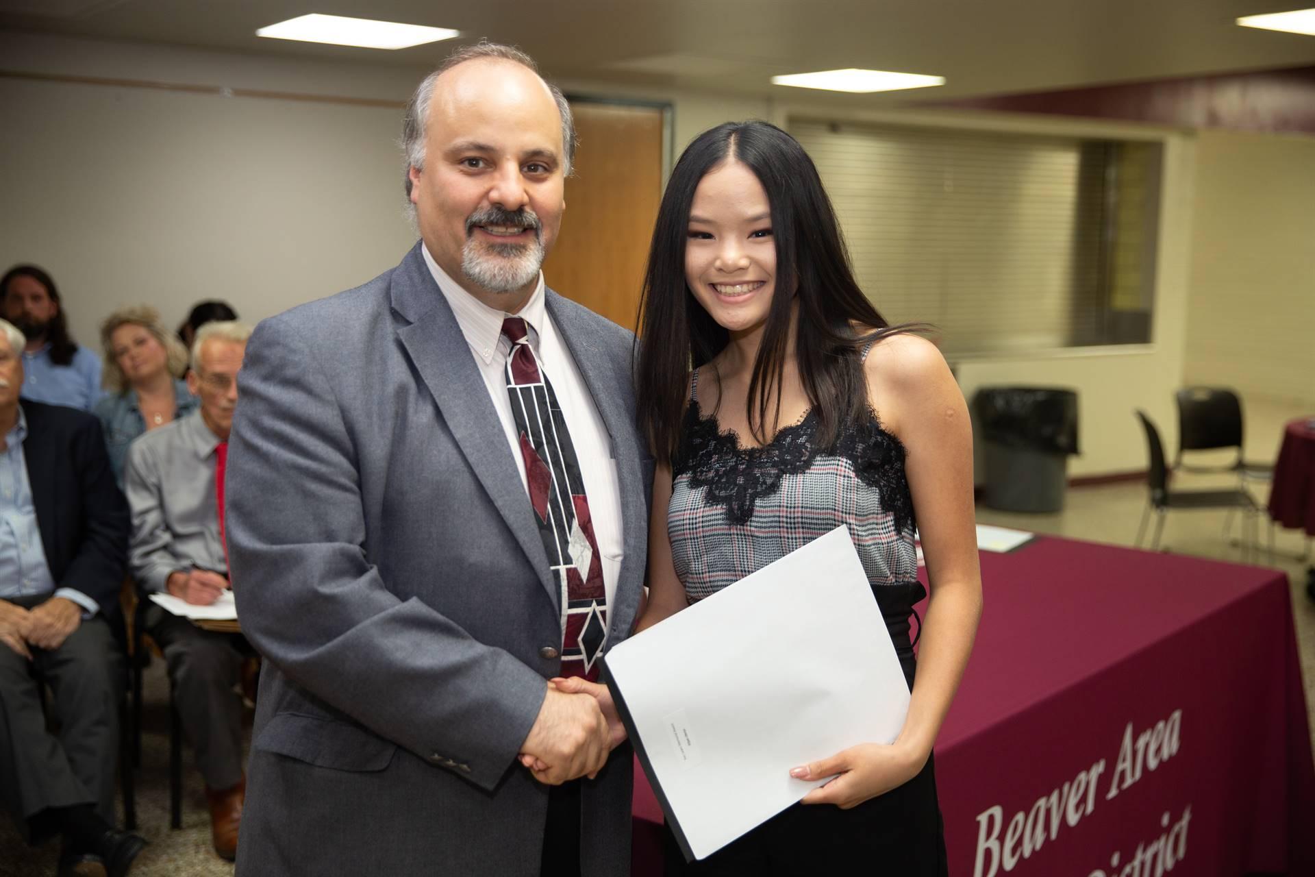 Presenting the BHS Alumni Award