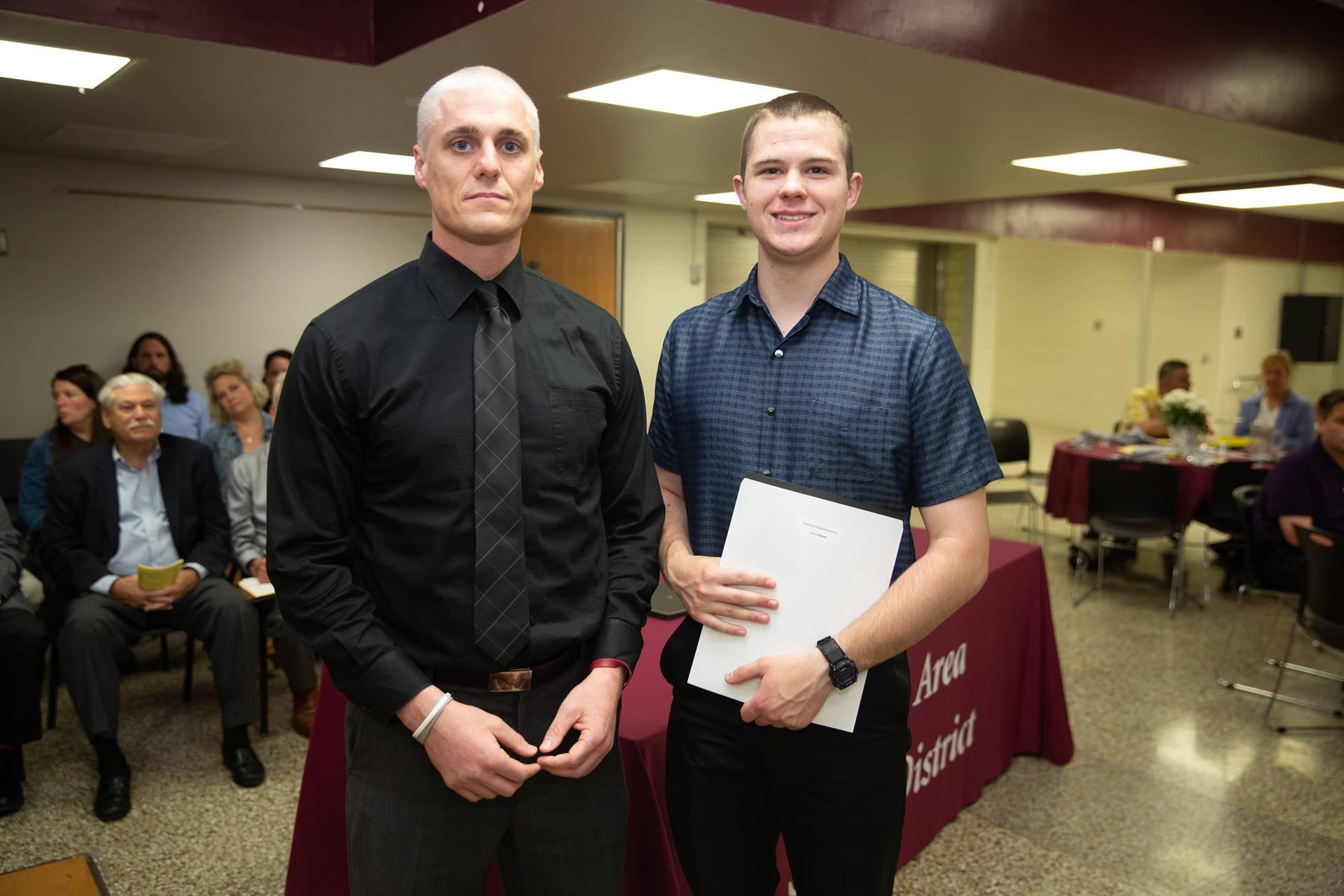 Presenting the Lloyd W. Dyer Engineering Scholarship