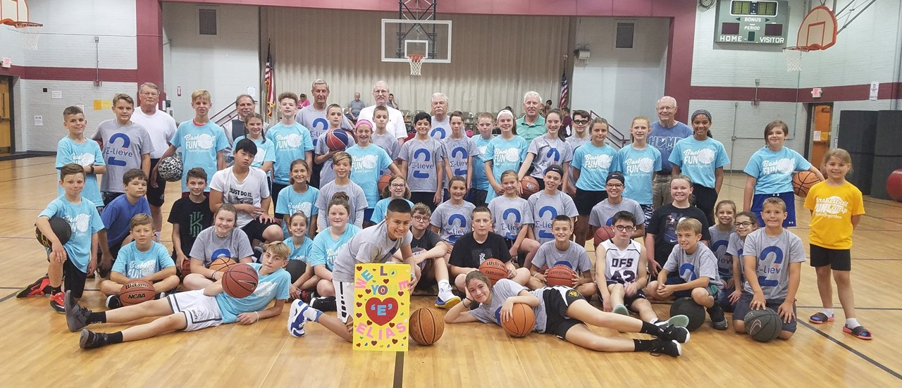 Summer Basketball Program at College Square Elementary