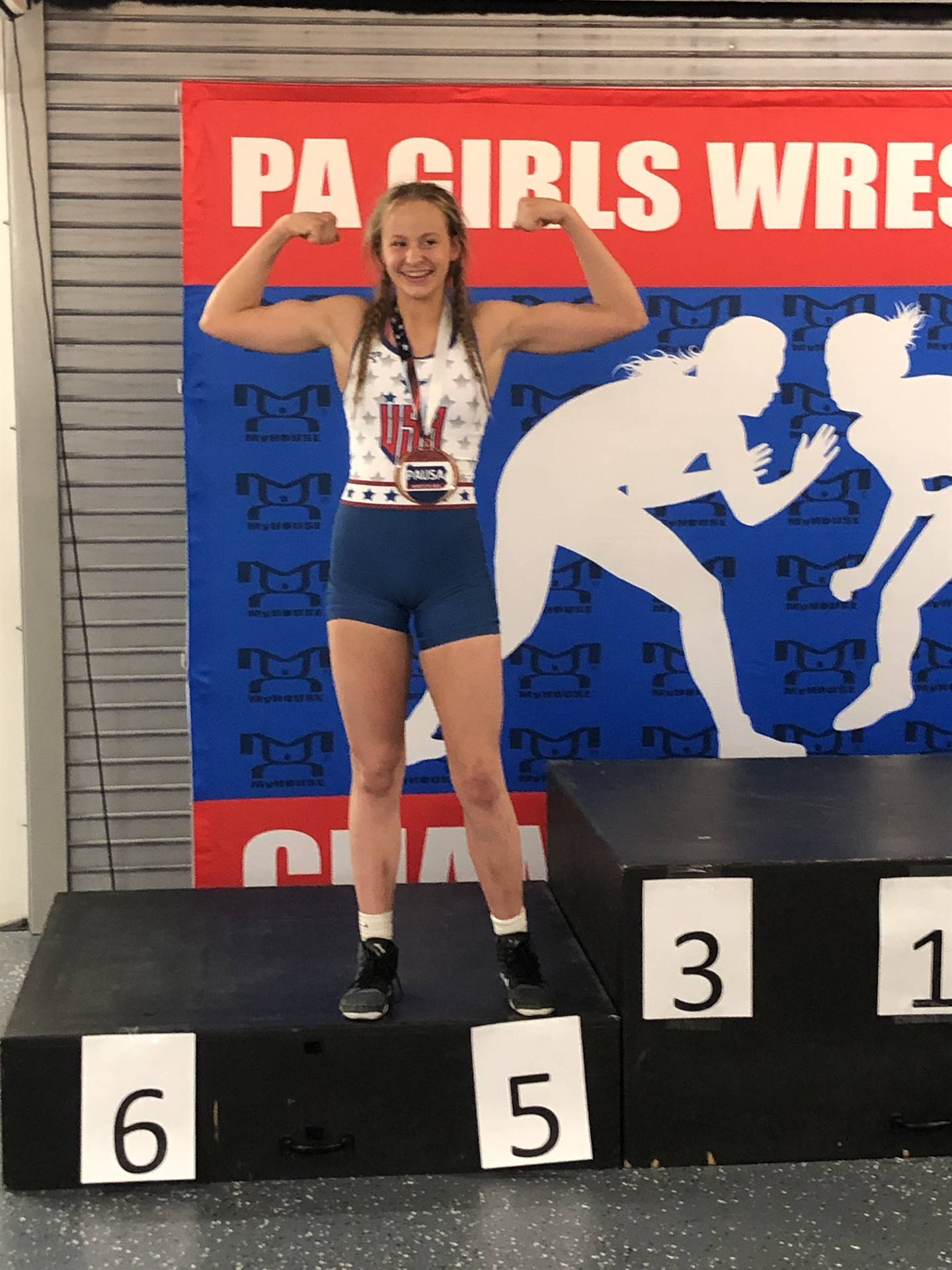 Adrianna Gilliam places 5th